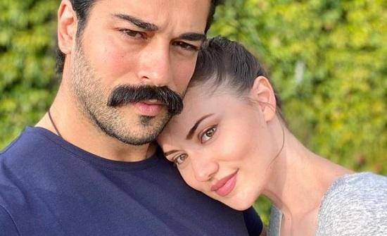 تعليقات رومانسية بين فهرية أفجين وزوجها بوراك أوزجيفت