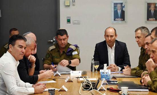 """وزير الدفاع الإسرائيلي يعقد جلسة لتقييم الأوضاع في الضفة الغربية على خلفية """"صفقة القرن"""""""