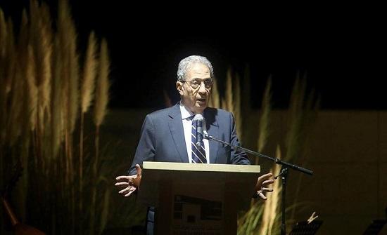 إصابة الدبلوماسي المصري عمرو موسى بكورونا