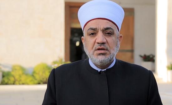 وزير الاوقاف : إجراءات الوزارة بالغاء صلاة الجمعة تستند لأحكام شرعية صحيحة