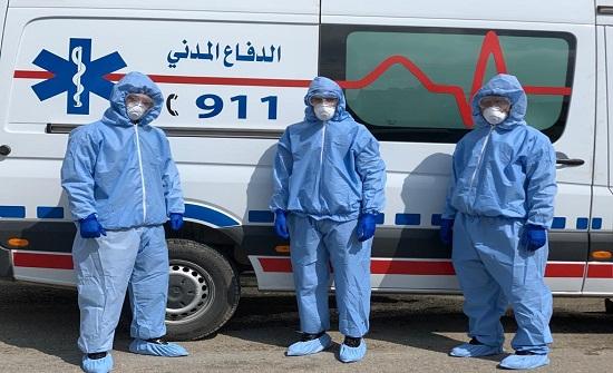 4750 اصابة جديدة بفيروس كورونا في الاردن