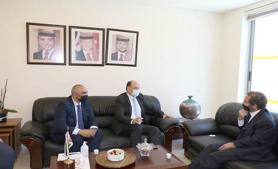 الأمير مرعد يلتقي المدير الإقليمي لشركة نتويرك إنترناشونال