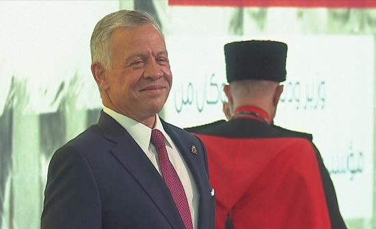 بالفيديو : الملك يرعى فعالية عيد الاستقلال الـ75