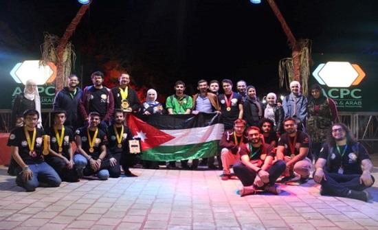 """فريق طلابي من """"الأردنية"""" يتأهل للمشاركة في مسابقة عالمية للبرمجة"""