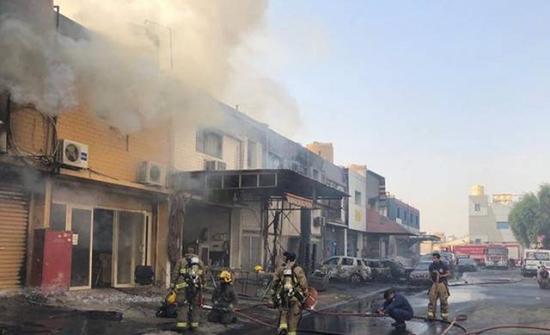 3 قتلى إثر حريق بمنطقة صناعية في الكويت