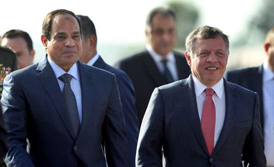 قمة أردنية مصرية الخميس بالقاهرة