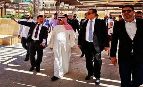 سفير الكويت يزور مدينة السلط