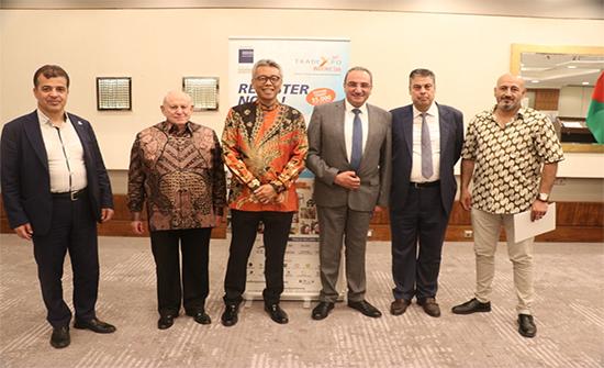 السفير الاندونيسي يدعو الى زيادة التعاون التجاري والاستثماري بين بلاده والاردن