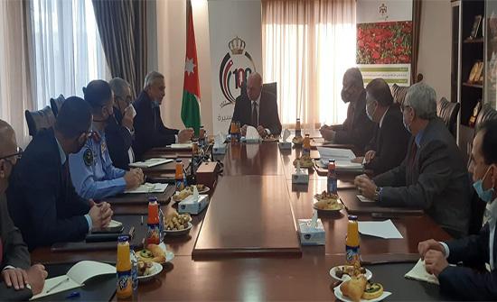 رئيس مجلس الأعيان يلتقي وزيري البيئة والزراعة