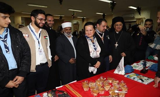 افتتاح البازار الخيري لكشافة ومرشدات مطرانية الروم الكاثوليك