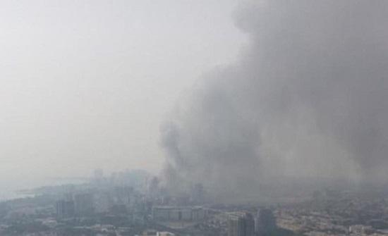 """نيران """"غامضة"""" تضرب إيران مجدداً.. حریق بمجمع تجاري وآخر بالغابات"""