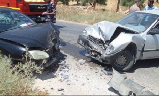 إصابات بحادث تصادم في عمّان