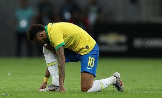 منتخب البرازيل يفقد مجددا خدمات نيمار
