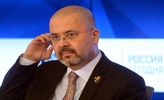 السفير العراقي بعمان يقدم نسخة من أوراق اعتماده لوزير الخارجية الفلسطيني