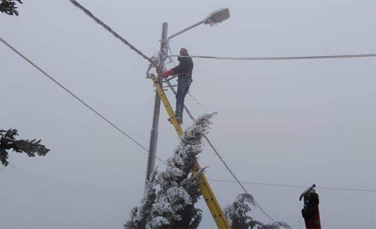 توزيع الكهرباء تعلن خطة طوارئ لموسم الشتاء