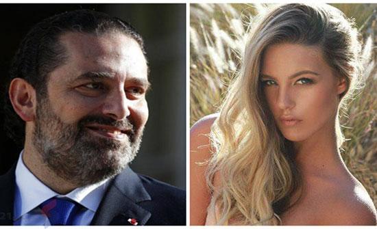 """الحريري يعلق على تقرير """"دفعه الملايين"""" لعارضة أزياء بحر"""