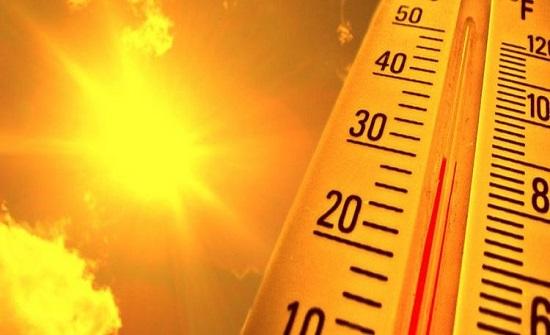 كتلة حارة اليوم والأرصاد تحذر من التعرض للشمس وترك المعقمات بالمركبات