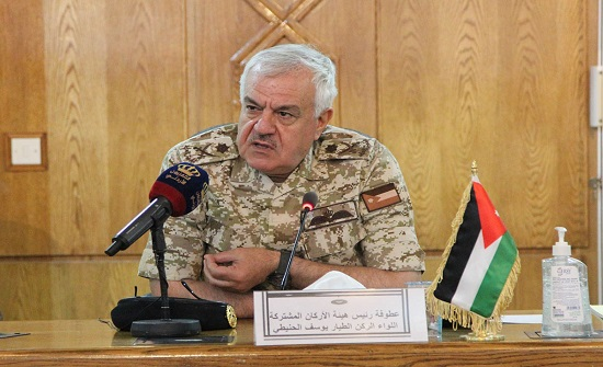 رئيس هيئة الأركان يشارك بفعاليات تمرين الأمن الوطني القيادة الواعدة