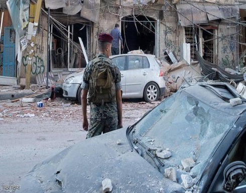 انفجار بيروت.. الجيش يكثف البحث ويواصل عزل المنطقة المتضررة