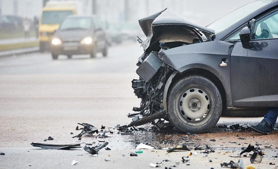 4 إصابات اثر حادث تصادم في القويسمة بعمان
