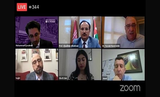 الدكتور يعقوب ناصر الدين يدعو لتعزيز ثقافة البحث العلمي بمواجهة كورونا