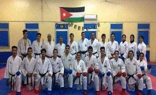 منتخبات الكاراتيه تبدأ لقاءاتها مع الفرق المصرية