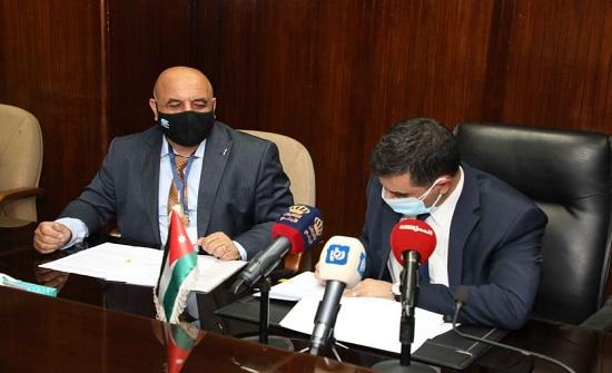 المياه توقع اتفاقية تنفيذ شبكات صرف صحي في شفا بدران