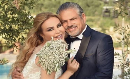 رولا سعد تحتفل بزفافها.. شاهد رقصة العروسين!