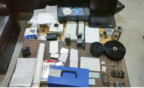 القبض على مطلوب يمتهن تزييف الوثائق والاوراق المالية والسندات