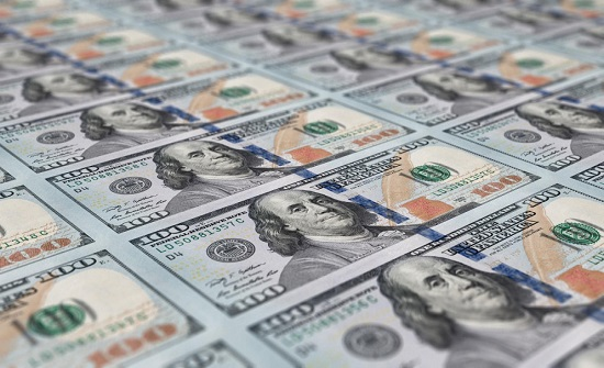 تراجع احتياطي الأردن من العملات الأجنبية