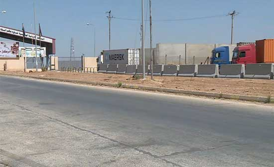 الدادود : الدخول مباشرة لسوريا سيخفض الكلف على 150 شاحنة وأكثر يوميا