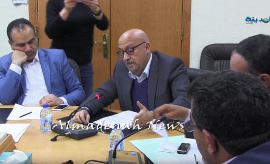 بالفيديو .. وزير المياه ابو السعود  : مستحيل اكتشاف الآبار السرية إلا إذا واحد فسد عالثاني