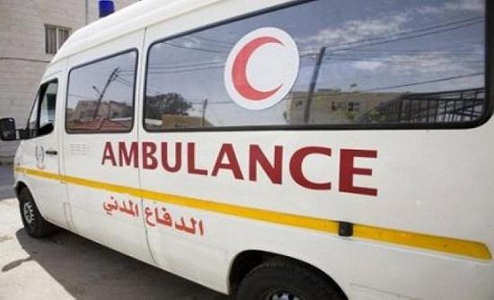 إصابة شخصين بحادث تدهور في منطقة القسطل