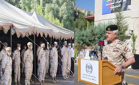 رئيس هيئة الأركان يزور مديرية التربية والتعليم والثقافة العسكرية