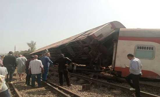 ارتفاع قتلى قطار القليوبية الى 16 قتيلا و109 مصابين