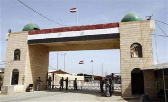 العراق يعلن افتتاح منفذ الوليد الجمركي مع سوريا