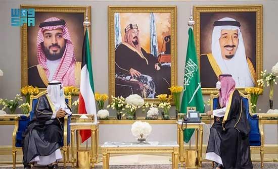 وليا عهد السعودية والكويت يبحثان وضع المنطقة وتعزيز الأمن