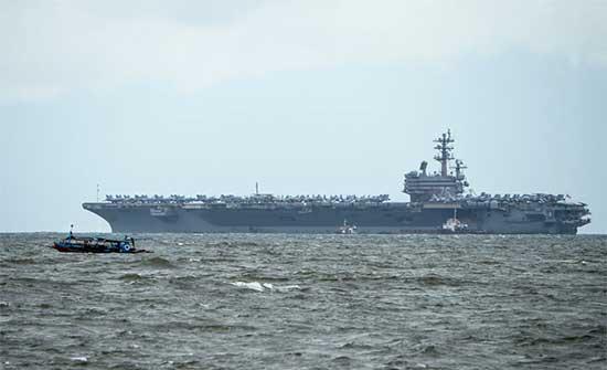 مسؤول أمريكي: درون إيرانية يعتقد مهاجمتها ناقلة نفط إسرائيلية قبالة سواحل عُمان