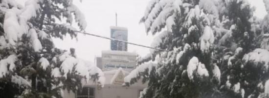 بلدية عجلون تواصل فتح الطرق التي شهدت تراكمًا للثلوج