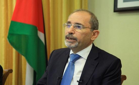 الصفدي يدعو لحشد موقف دولي يمنع تنفيذ قرار الضم الإسرائيلي