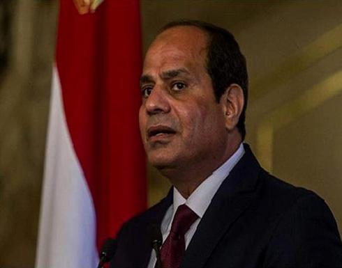 السيسي : حكومة السراج أسيرة للميليشيات المسلحة والإرهابية