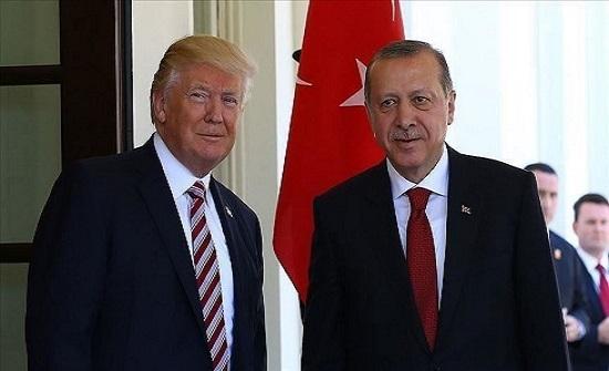 ترامب: لدينا علاقات جيدة مع الرئيس أردوغان