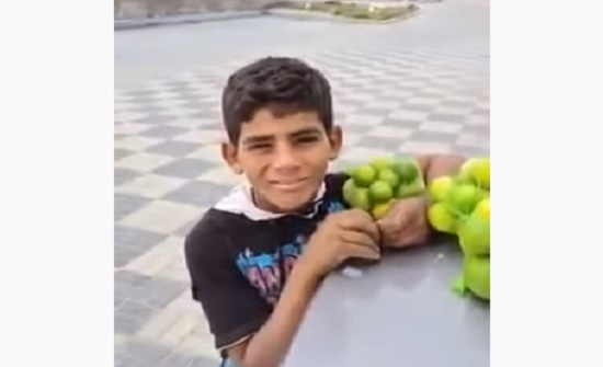 """فيديو """" طفل الليمون المصري .. براءة بعقول رجال"""