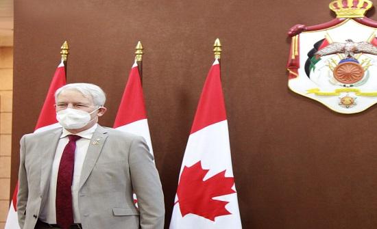 غارنو : الأردن الدولة العربية الوحيدة التي لديها اتفاقية تجارة حرة مع كندا