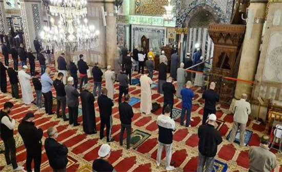 العمل الاسلامي يصدر بيانا حول إجراءات التباعد في المساجد