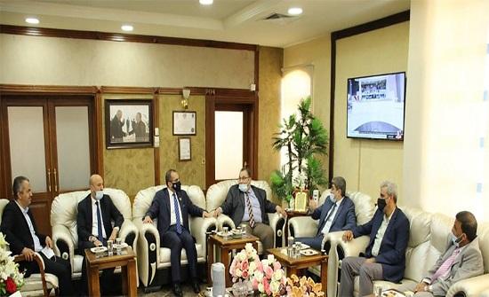 القائم بأعمال رئيس جامعة الزرقاء يستقبل المستشار الثقافي العراقي