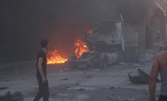 إدلب.. قوات النظام تخرق مجدداً اتفاق وقف إطلاق النار