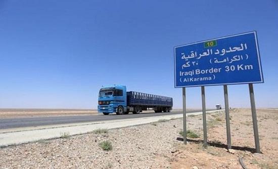 العراق يعيد ارسالية زيت محركات الى الاردن