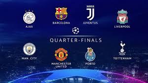 سحب قرعة ربع نهائي دوري أبطال أوروبا