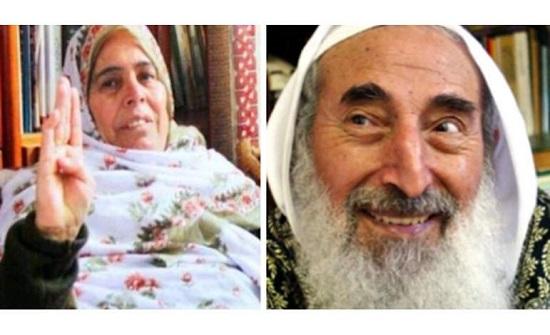 وفاة زوجة الشيخ أحمد ياسين